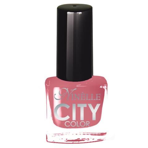 City Color Лак Для НогтейЛак для ногтей<br>Новейшие тенденции маникюра и потребности современных женщин вдохновили марку Ninelle на создание новой коллекции лаков для ногтей CITY COLOR от Ninelle  Формула уникальна и безупречна  лак быстро сохнет  гарантирует идеальную цветопередачу и потрясающий блеск  а также непревзойденную стойкость  Лак для ногтей City color выравнивает поверхность ногтя  делая его идеально гладким и безупречно глянцевым  Высокая концентрация пигментов и новая кисть заметно  упростили  маникюрную процедуру - лаки теперь можно наносить одним слоем  Удобная кисточка поможет распределить лак быстро и с максимальной точностью  что позволяет равномерно нанести лак даже на короткие ногти  Богатая цветовая гамма позволяет выбрать прекрасный вариант для любого повода  В состав входят ухаживающие компоненты  предотвращающие повреждения ногтей  И еще одно удобство для жительниц мегаполисов - лак снимается настолько легко  что его можно менять так часто  как Вы пожелаете  Подходит для натуральных и искусственных ногтей<br>Type: № 166;